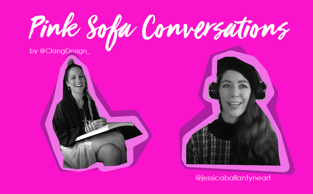 Pink Sofa Conversations   Jessica Ballantyne art as a therapy & porn as an influence
