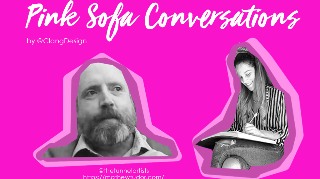 Pink Sofa Conversations   Matthew Tudor explains how to be a bohemian artist in 2020
